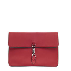 Gucci Jackie Flap Shoulder Bag Soft Leather