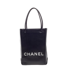 Chanel Essential Shopping Tote Leather Small