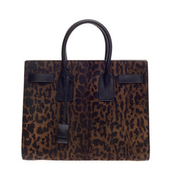 Saint Laurent Sac De Jour Pony Hair Small