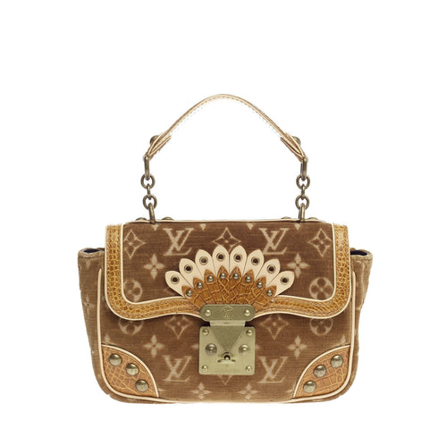d4ca85daa1d271 Buy Louis Vuitton Irvine Handbag Monogram Velours and 728601 – Rebag