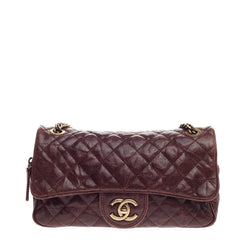 Chanel Shiva Flap Bag Quilted Caviar Medium