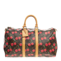 Louis Vuitton Keepall Limited Edition Cerises 45