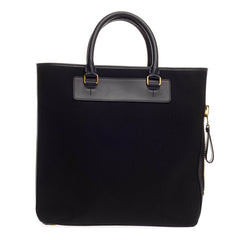 Tom Ford Side-Zip Tote Canvas