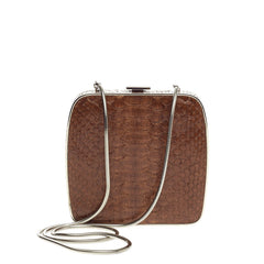 Ralph Lauren Collection Cafe Bag Python