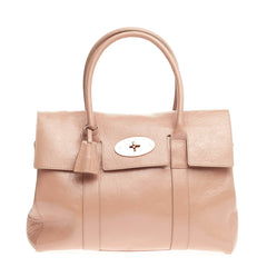 Mulberry Bayswater Satchel Patent Medium