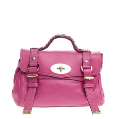 Mulberry Alexa Satchel Soft Buffalo Mini