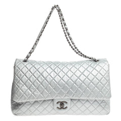 Chanel Airlines CC Flap Quilted Calfskin XXL