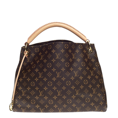 7d89793822d9 Buy Louis Vuitton Artsy Handbag Monogram Canvas MM Brown 776901 – Rebag