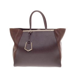 Fendi 2Jours Leather Large
