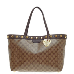 Gucci Babouska Tote GG Coated Canvas Medium
