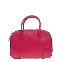Gucci Bright Convertible Top Handle Diamante Leather -