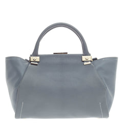 Lanvin Trilogy Convertible Satchel Leather Small