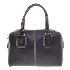 Tod's D Cube Convertible Bauletto Leather Small