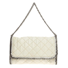 Stella McCartney Falabella Flap Bag Quilted Faux Leather