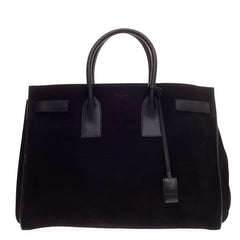 Saint Laurent Sac De Jour Carryall Suede Medium