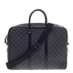 Louis Vuitton Porte-Documents Voyages Damier Graphite GM