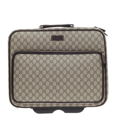 Gucci Carry-on Pilot Case GG Coated Canvas