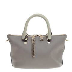 Chloe Baylee Satchel Bicolor Leather Mini