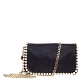 Stella McCartney Falabella Crossbody Pearl Shaggy Deer Mini