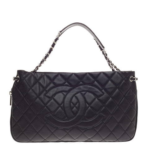0e0dd86c227f Buy Chanel Timeless CC Expandable Tote Quilted Caviar Medium 488602 – Rebag