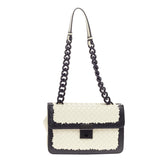 Bottega Veneta Glass Shoulder Bag Intrecciato Nappa and Snakeskin Small