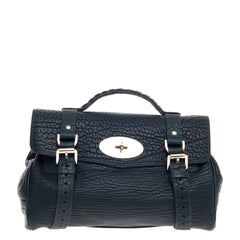 Mulberry Alexa Satchel Shrunken Calfskin Medium