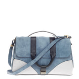 Jason Wu Hanne Messenger Suede with Leather Medium