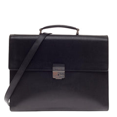 Salvatore Ferragamo Revival Briefcase Leather