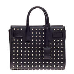 Saint Laurent Sac De Jour Studded Leather Baby