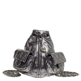 Chanel Backpack Is Back Metallic Leather Mini