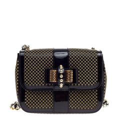 Christian Louboutin Sweet Charity Backpack Crystal Embellished Mini