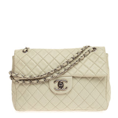 Chanel Classic Soft Flap Quilted Caviar Maxi