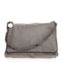 Stella McCartney Falabella Flap Messenger Shaggy Deer