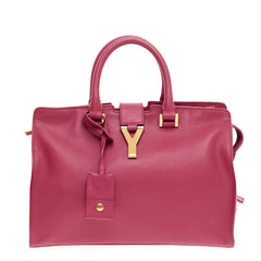 Saint Laurent Chyc Cabas Tote Leather Small