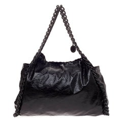 Stella McCartney Falabella East West Tote Crinkle Patent