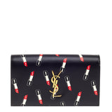 Saint Laurent Classic Monogram Clutch Printed Leather