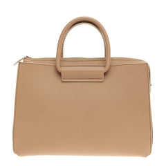 The Row Satchel 12 Leather