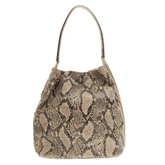 Stella McCartney Boo Hobo Faux Snakeskin