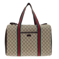 Gucci Pet Carrier GG Canvas Large