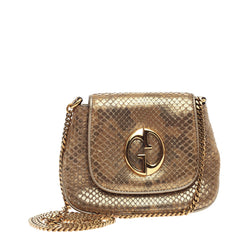 Gucci 1973 Crossbody Python Small