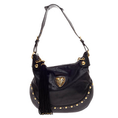 Gucci Babouska Heart Hobo Leather Large