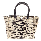 Valentino Rockstud Tote Calf Hair Small