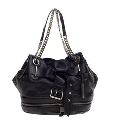Alexander McQueen Faithful Bucket Bag Leather