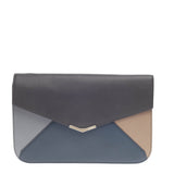 Fendi 2Jours Clutch Leather