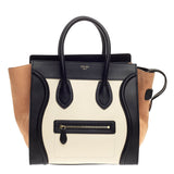 Celine Tricolor Luggage Leather Mini