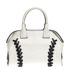 Tod's Cape Satchel Whipstitch Leather Mini