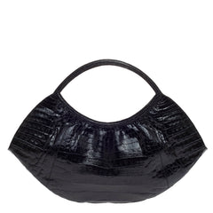 Nancy Gonzalez Crescent Shoulder Bag Crocodile Large