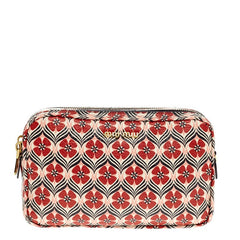 Miu Miu Madras Crossbody Printed Leather Small