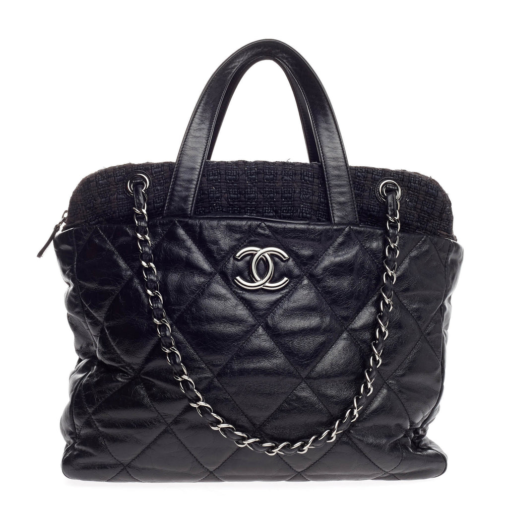 edb3c93d3dc1 Buy Chanel Portobello Zip Tote Quilted Glazed Calfskin and 855601 ...