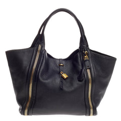 Tom Ford Amber Double Zip Tote Leather Large